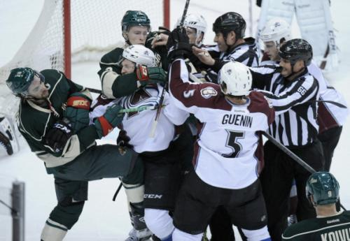 Avalanche Fall To Wild In Game 4, Series Now Even
