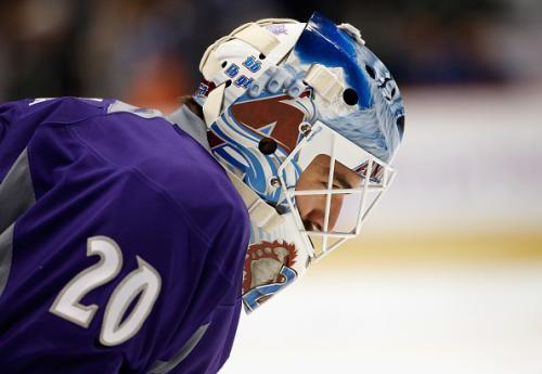Avs Goalie Reto Berra Scores For Lake Erie In AHL