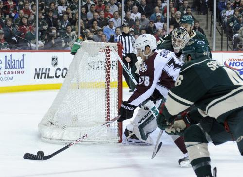 Avs Try To Regroup After Wild Tie Series At 2