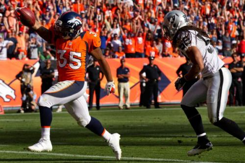 Broncos Pass Raiders Game With Flying Colors