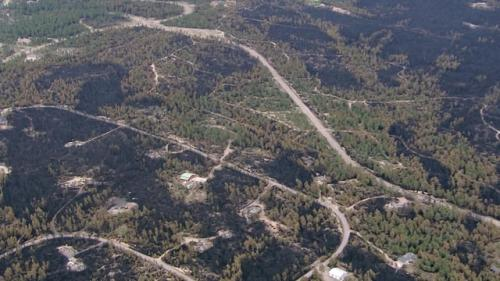Investigators Search Home Near Black Forest Fire Point Of Origin