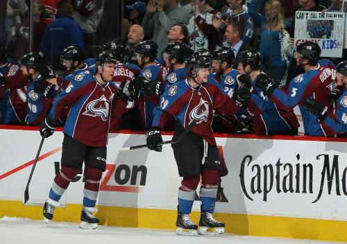 MacKinnon Helps Avs To Game 2 Win Over Wild