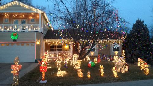 Neighborhoods With The Top Holiday Lights In Denver