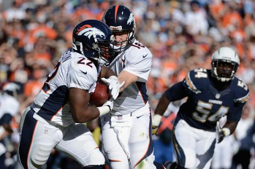 Sick, Sore Manning Leads Broncos to AFC West Title